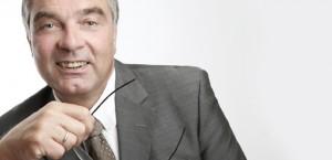 Porträt Gerd Rapior mit Brille
