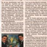 Vernissage Berichterstattung Lübecker Nachrichten Gerd Rapior