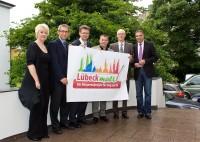 Lübeck malt Partner mit Gerd Rapior