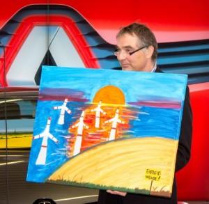 Lübeck malt Versteigerung- Schlag auf Schlag wechselten die Bilder den Besitzer Gerd Rapior MEDIA CONCEPT