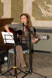 Paulina Adler sorgte für den musikalischen Rahmen
