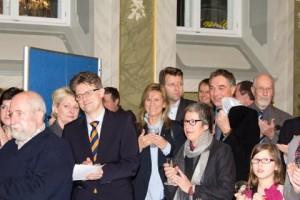 Zuhörer Ingo Hafke Susanne Kasimir Gerd Rapior und andere