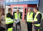 Gerd Rapior Media Concept mit Minister Christian Pegel und Stephan Gustke