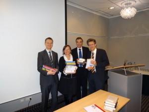 Jens Kohberg, Annemarie Stoltenberg, Gerd Rapior, Ingo Hafke