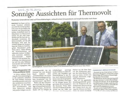 Gerd Rapior Media Concept thermovolt AG