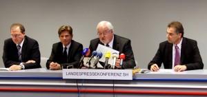Landespressekonferenz Schleswig-Holstein Gerd Rapior