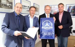 der Vertrages unter Dach und Fach Andreas Kleinert Stephan gustke Gerd Rapior Media concept