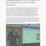 Gerd Rapior hält Vortrag