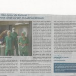 Miniatur-Bild Bericht Kieler Nachrichten