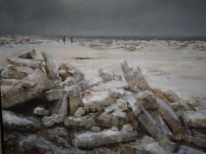 Eis Winter auf Sylt