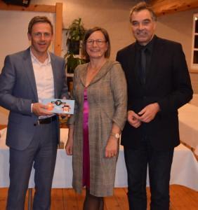 Stephan gustke NDR-Kultur-Redakteurin Annemarie Stoltenberg Gerd Rapior media concept fr. Ndr Redakteur Pressesprecher gustke Logistik