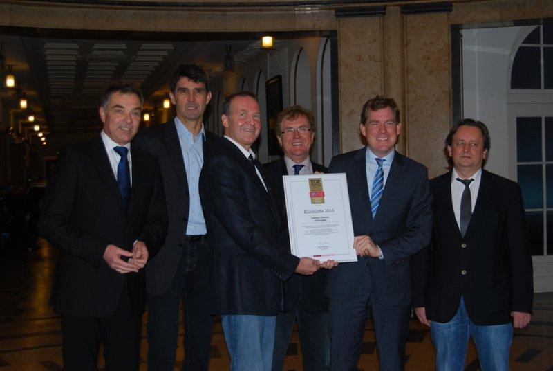 Gratulationskur im Rathaus