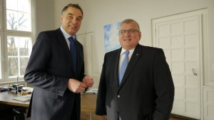 Gerd Rapior und Klaus Schlie