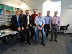 Die Gruppe 2 mit Raimo Benger