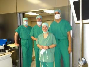 Lubinus Clinikum OP Gesundheitsministerin Kristin Alheit Gerd Rapior Media Concept fr. NDR Redakteuer Pressesprecher