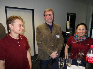 Gerd Rapior MEDIA Concept Eröffnung Röntgenpraxis Karlstal im Lubinus CLINICUM
