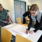 Planung des Studentenwohnheimen