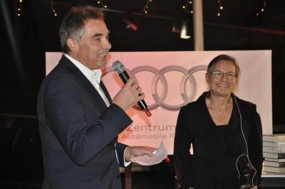 Moderation Annemarie Stoltenberg AUDI Norddeutsche Neuste Nachrichten Gerd Rapior Media Concept