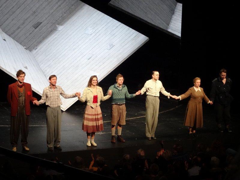 Deutschstunde Thalia-Theater Siegfried Lenz Foto Gerd Rapior