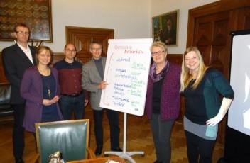 Medientraining Annette Wiese-Krukowska Pressesprecherin Gerd Rapior